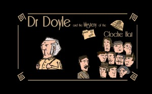 Dr. Doyle and the Mystery of the Cloche Hat Box Cover