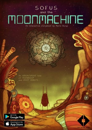 Sofus and the Moonmachine Box Cover