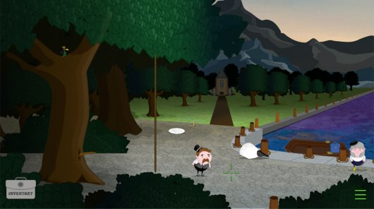 Mystery of Woolley Mountain, The Screenshot