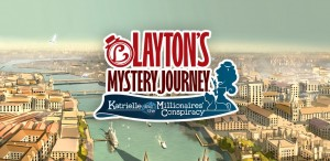 LAYTON'S MYSTERY JOURNEY: Katrielle and the Millionaires' Conspiracy Box Cover