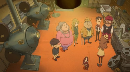 Lady Layton: The Millionaire Ariadone's Conspiracy Screenshot 10