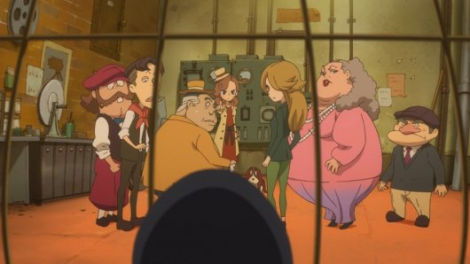 Lady Layton: The Millionaire Ariadone's Conspiracy Screenshot 9