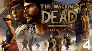 Walking Dead: A New Frontier - Episode Four: Thicker than Water, The - Cover art