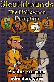 Sleuthhounds: The Halloween Deception Box Cover