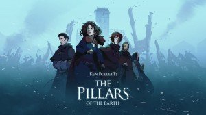 Pillars of the Earth: Book Two – Sowing the Wind, The (Ken Follett's) - Cover art