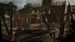'The Pillars of the Earth: Book Two – Sowing the Wind (Ken Follett's) - Screenshot #3