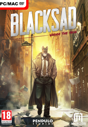 Blacksad: Under the Skin Box Cover
