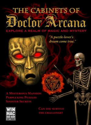 Cabinets of Doctor Arcana, The - Cover art