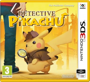 Detective Pikachu Box Cover