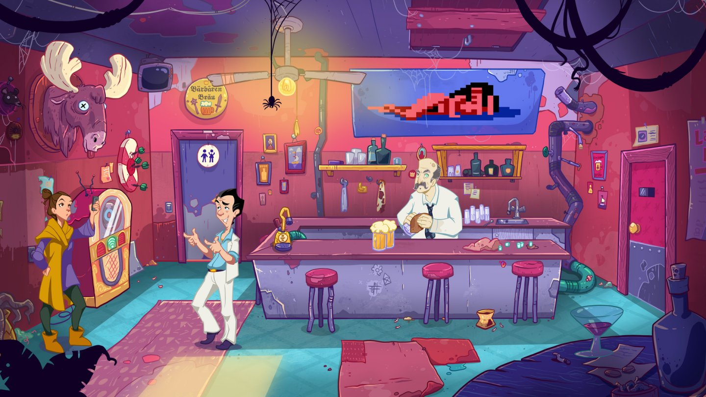 Leisure Suit Larry: Wet Dreams Don't Dry review - abou t