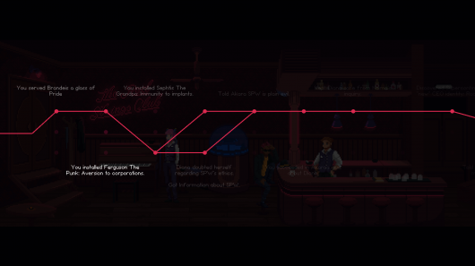 Screenshot for Red Strings Club, The #3