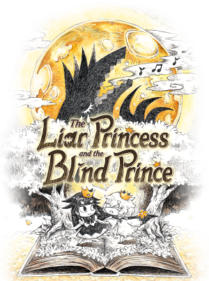 Liar Princess and the Blind Prince, The - Cover art