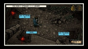Lovecraft Quest – A Comix Game Screenshot #1