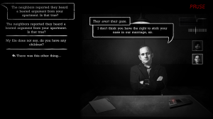 Interrogation Screenshot #1