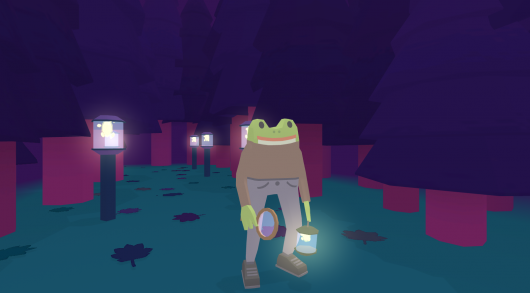 Frog Detective 2: The Case of the Invisible Wizard Screenshot