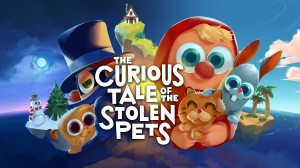 The Curious Tale of the Stolen Pets Box Cover